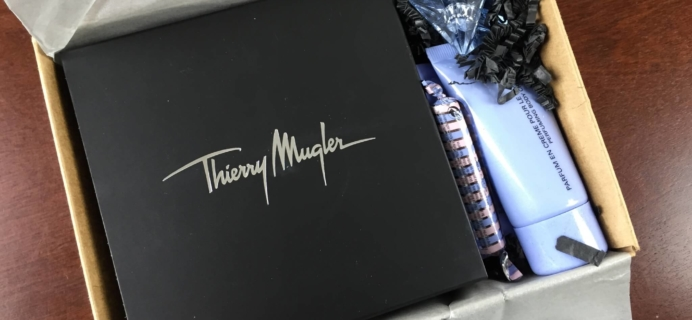 Spring 2015 June Mugler Addict Subscription Box Review