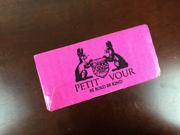 petit vour july 2015 box