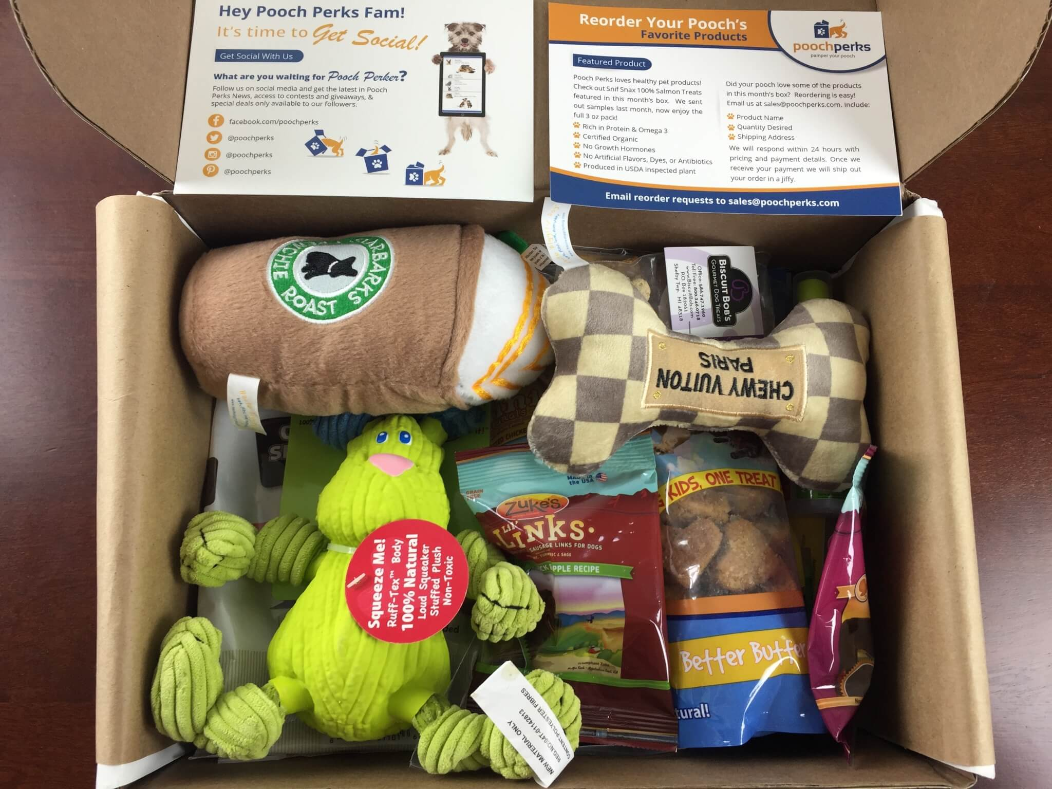 Pooch Perks Dog Subscription Box Review & Coupon: June 2015