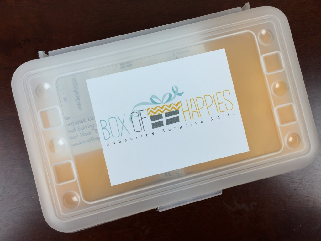 Box of Happies Subscription Box Review – July 2015