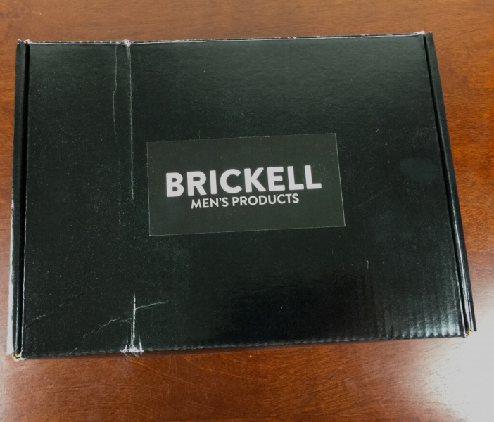 brickell mens box subscription july 2015 box