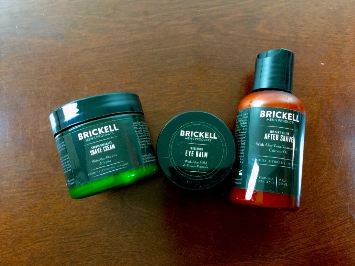 brickell mens box subscription july 2015 review