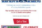 PetGiftBox Fourth of July Coupon – Free Box with 3+ Month Dog or Cat Subscription!