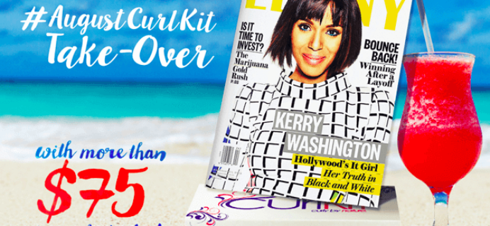 August 2015 CurlKit Spoilers & Coupon – Miss Jessie's Takeover!