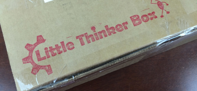 Little Thinker Box July 2015 Review
