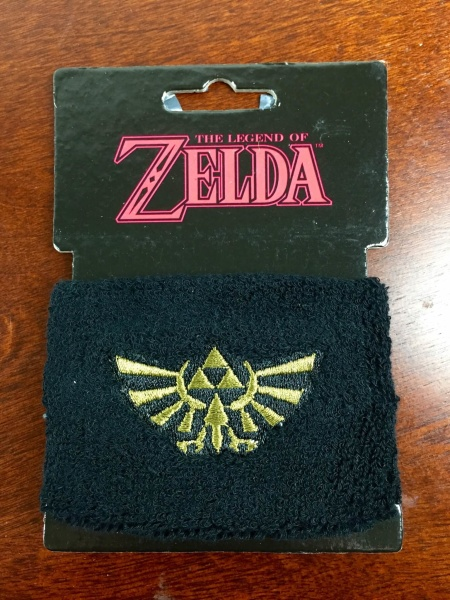 loot crate july 2015 zelda wristband