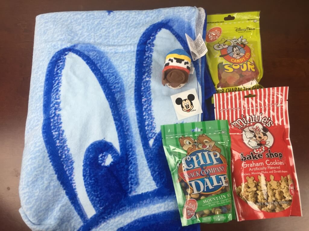 Mickey Monthly Subscription Box Review – July 2015