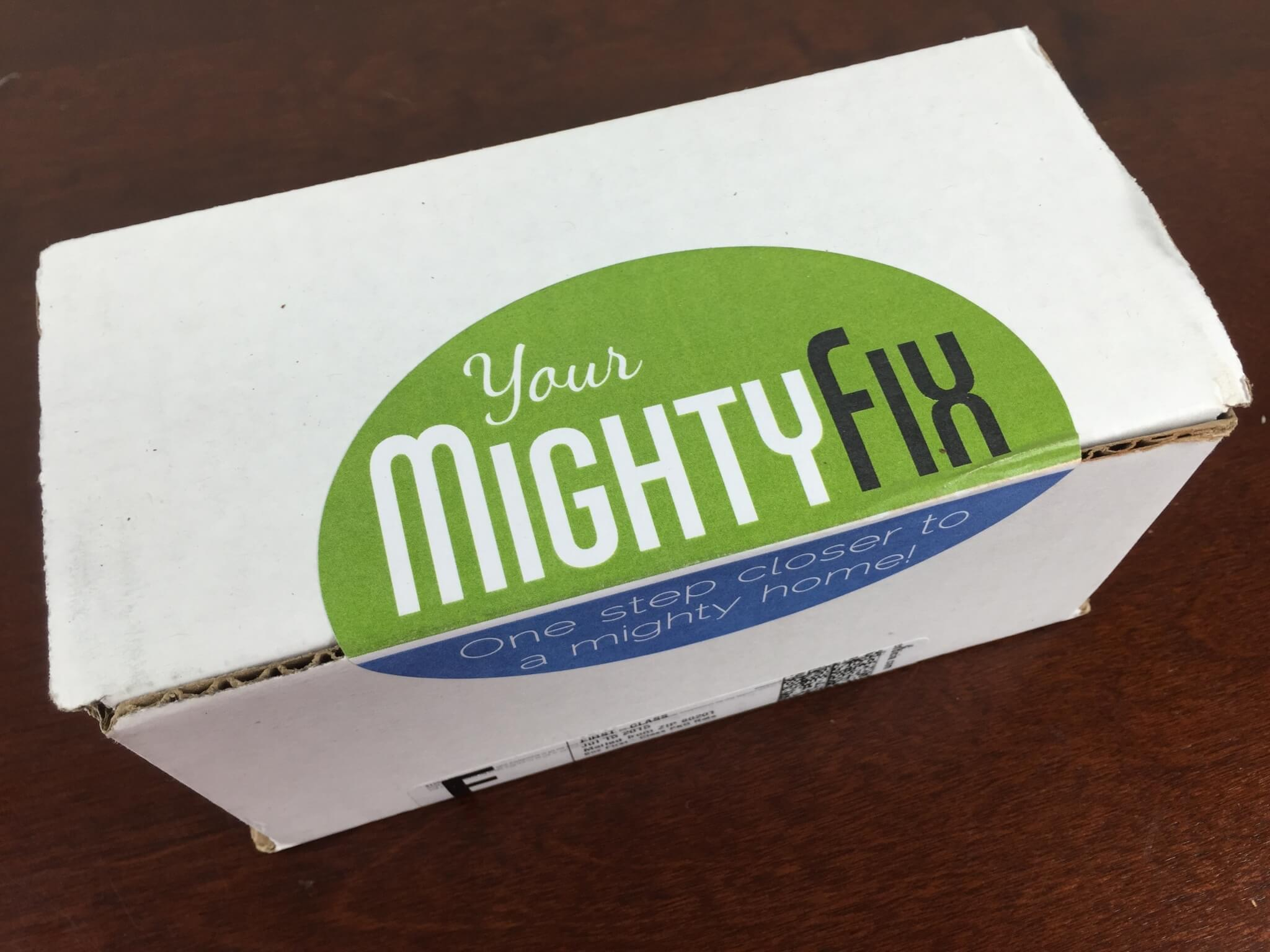July 2015 Mighty Fix Subscription Box Review