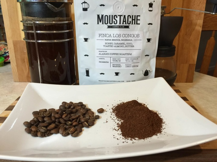 moustache coffee review