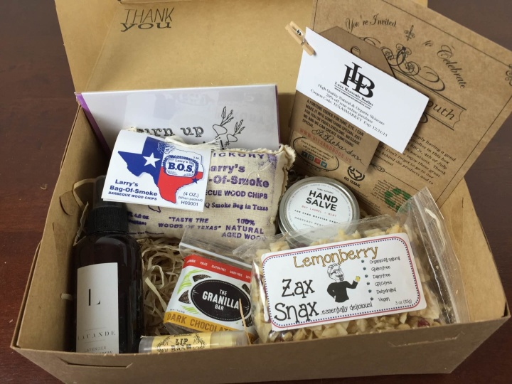 my texas market july 2015 first box