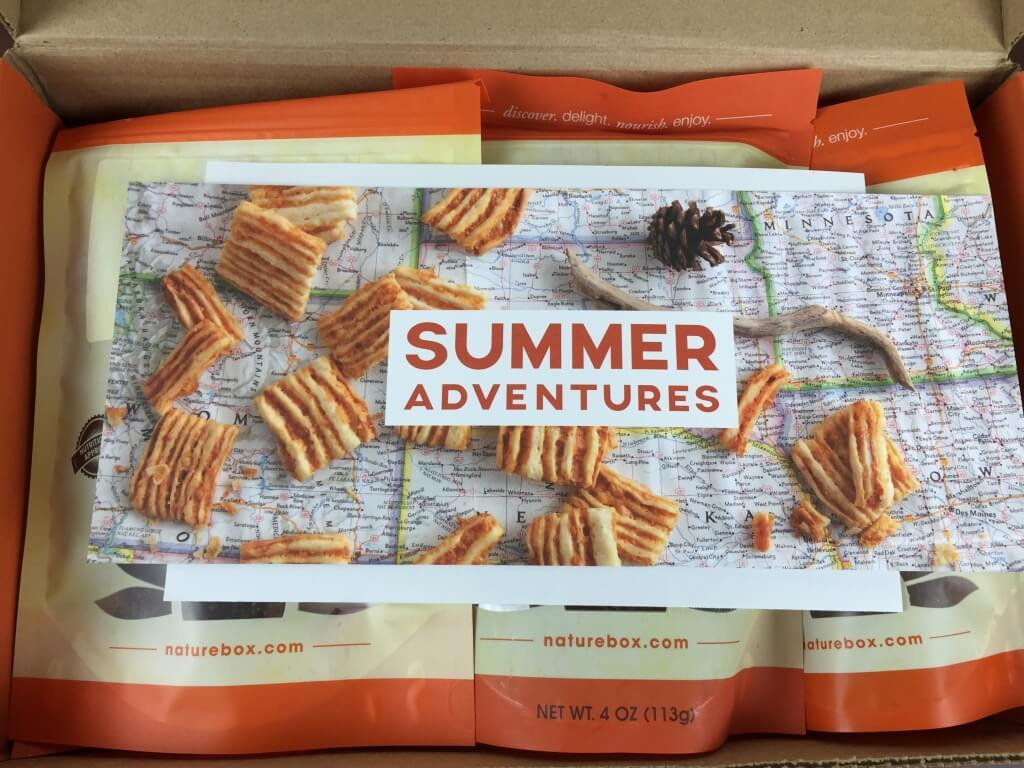 July 2015 NatureBox Subscription Box Review