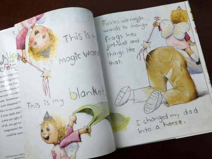 pretend place dress up fairy box july 2015 book inside
