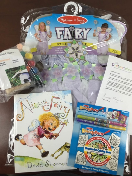pretend place dress up fairy box july 2015 review