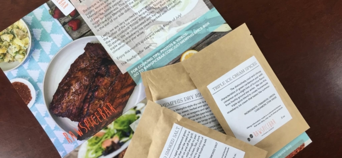 July 2015 RawSpiceBar Spice Subscription Review & Coupon