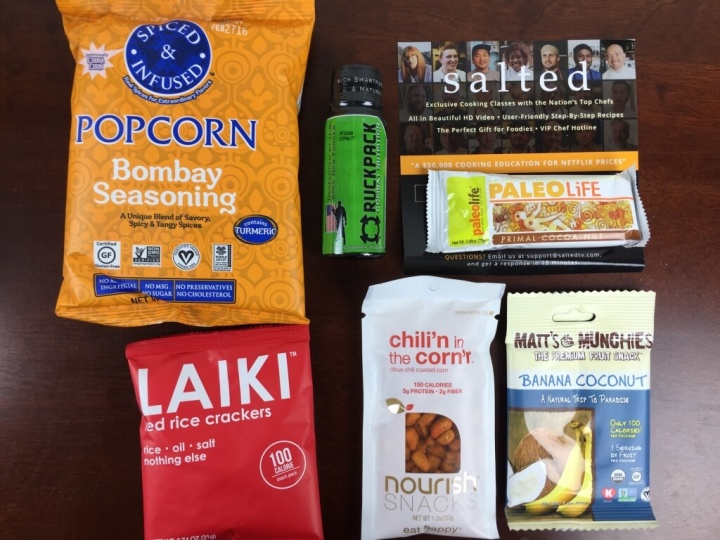 urthbox vegan mini july 2015 review
