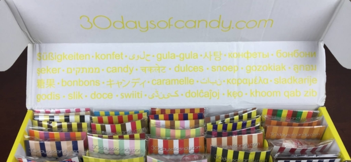 "30 Days of Candy Subscription Box Review + Coupon – August 2015 ""Candy of our Grandparents and Great Grandparents """