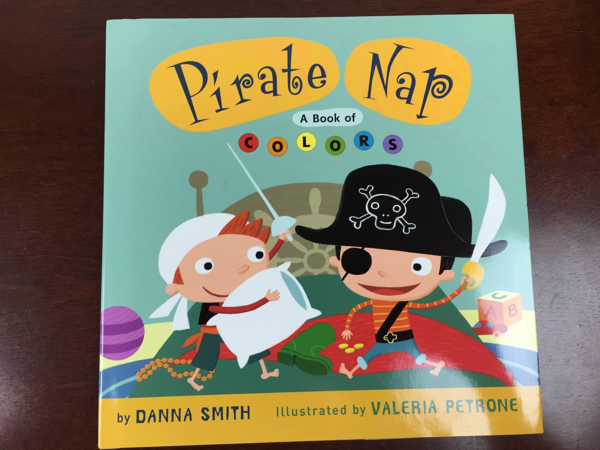 bookroo august 2015 pirate nap