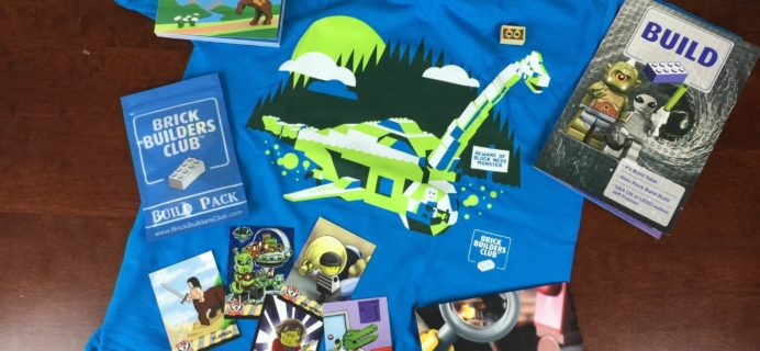Brick Builders Club Subscription Box Review – August 2015