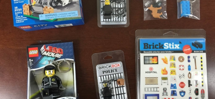 BrickBox Subscription Box Review – August 2015