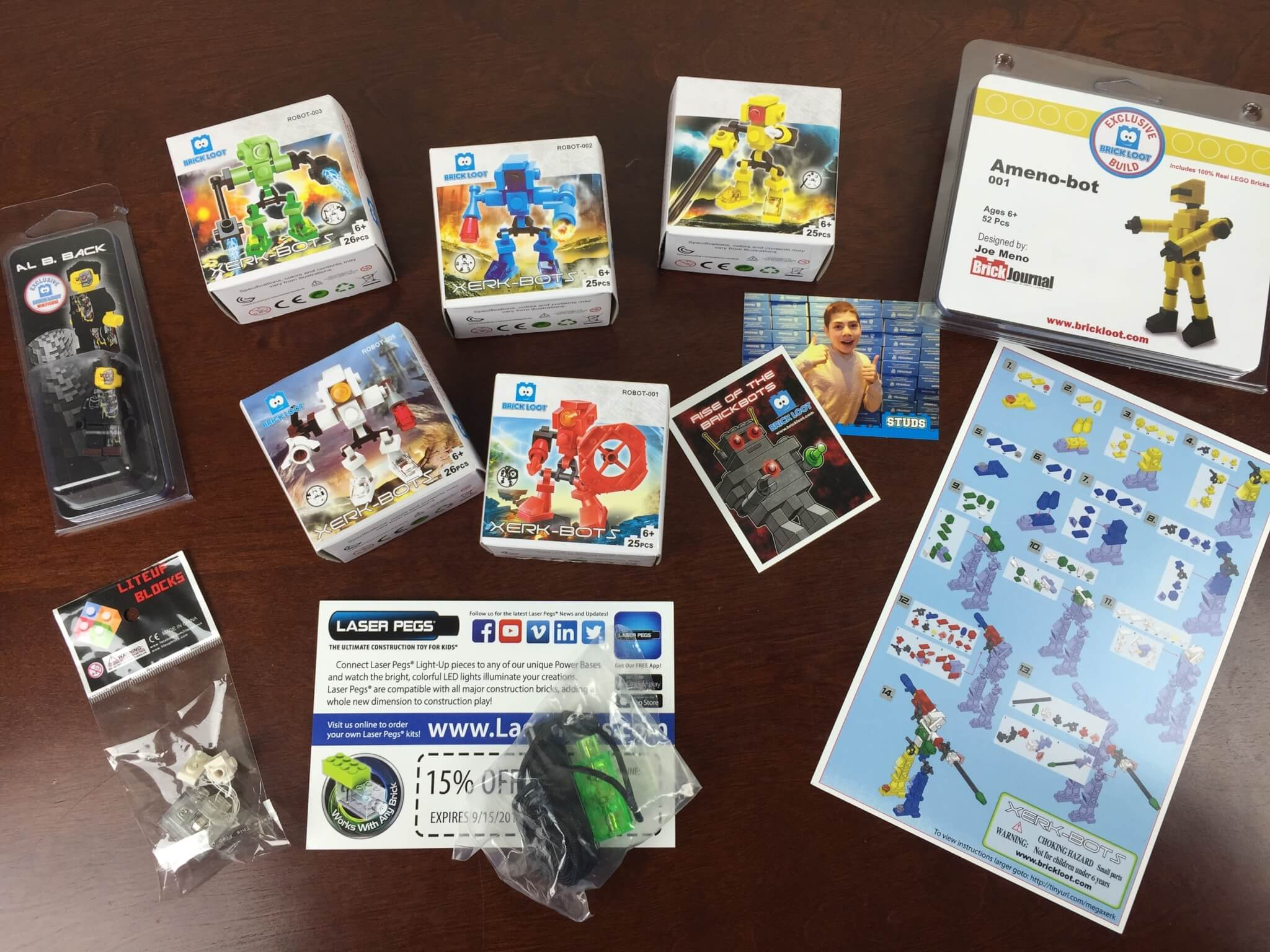 Brick Loot Subscription Box Review + Coupon – August 2015