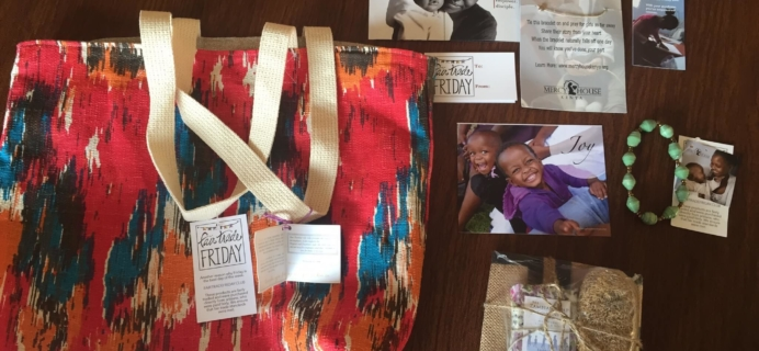 Fair Trade Friday Subscription Box Review – August 2015
