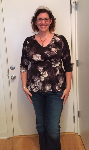 gwynnie bee august 2015 IGIGI Kloey Top in Floral Print