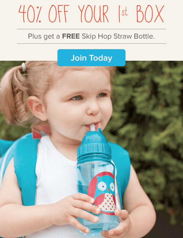 Citrus Lane 40% Off First Box + Free Skip Hop Straw Bottle Deal