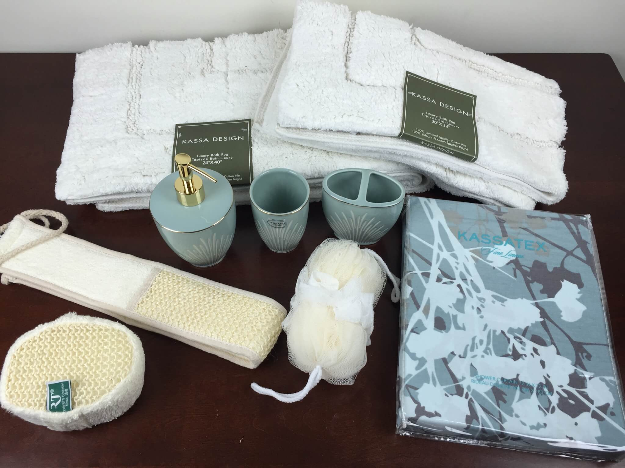 Linen Crate Subscription Box Review Coupon August 2017 Powder Room Hello
