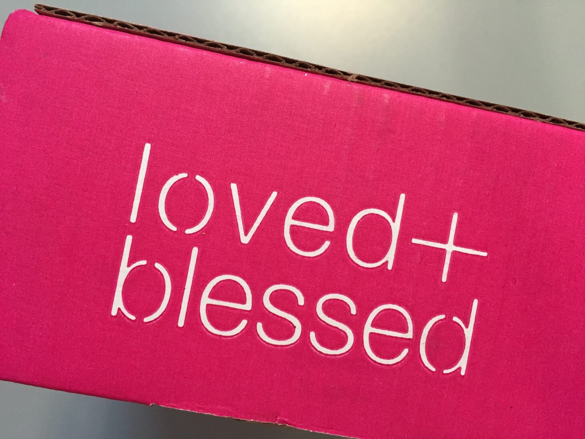 Loved + Blessed Christian Subscription Box Review – August 2015