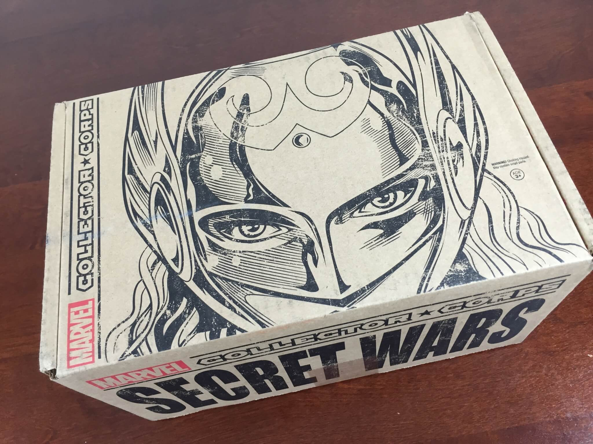marvel collector corps secret wars august 2015 box