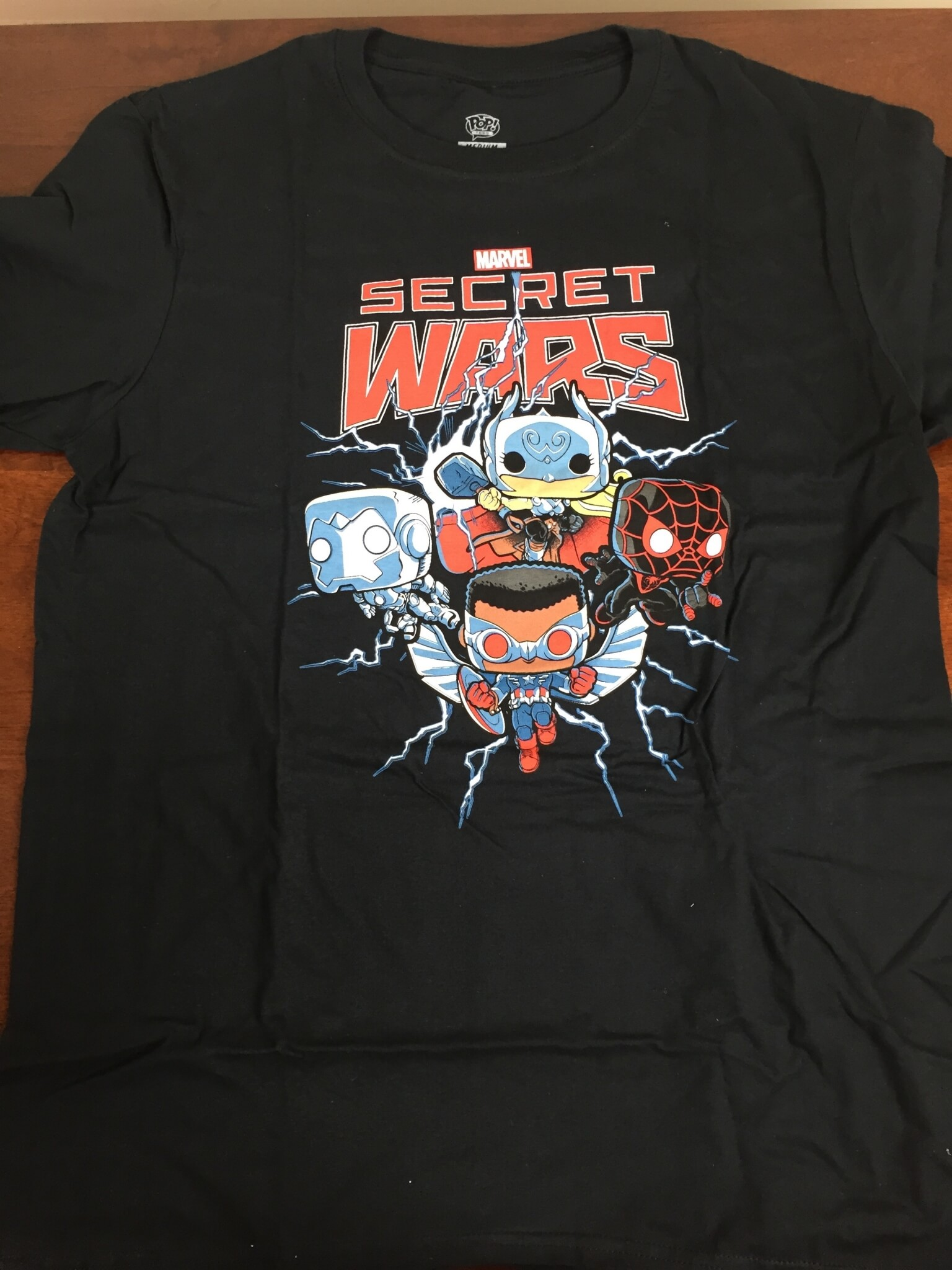 marvel collector corps secret wars august 2015 shirt