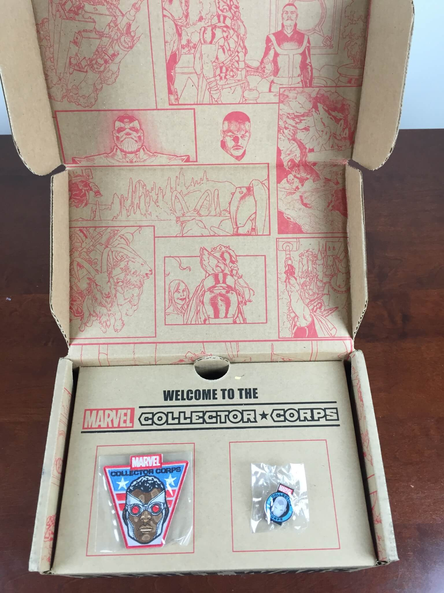 marvel collector corps secret wars august 2015 unboxing