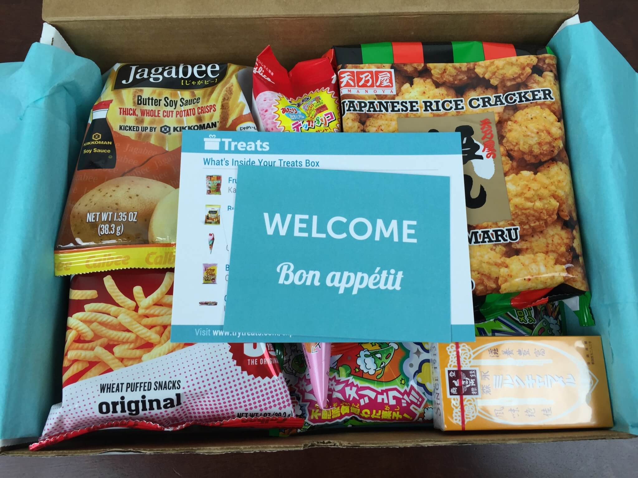 Treats Box Subscription Box Review – August 2015