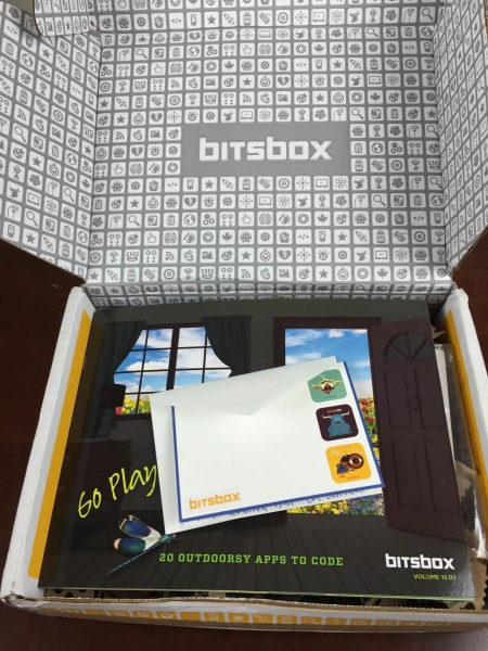 bitsbox august 2015 unboxinig