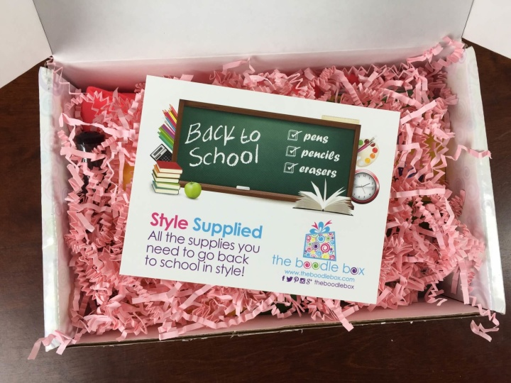 boodle box august 2015 unboxing