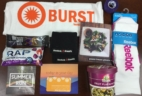Burst Box Review – Subscription Box for CrossFitters & Athletes – August 2015