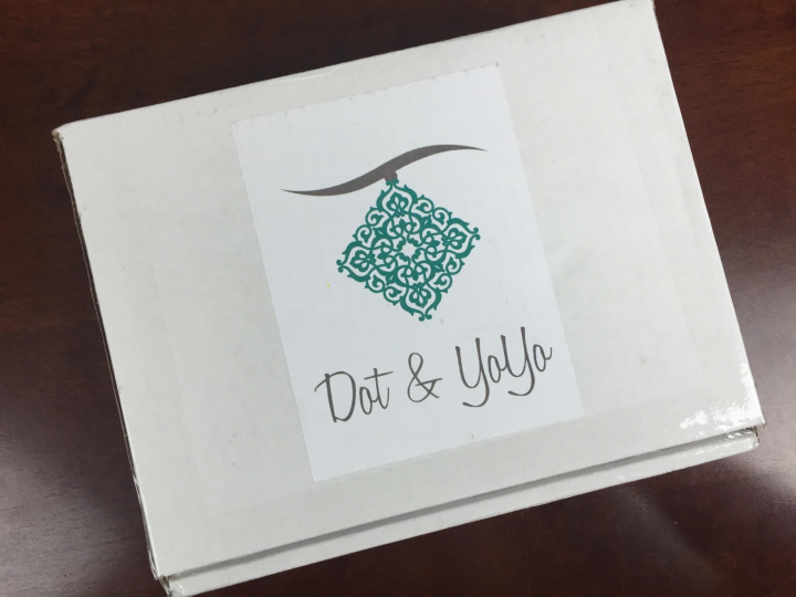 dot yoyo october 2015 box