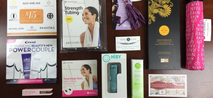 FabFitFun Fall 2015 Subscription Box Review + $10 Coupon