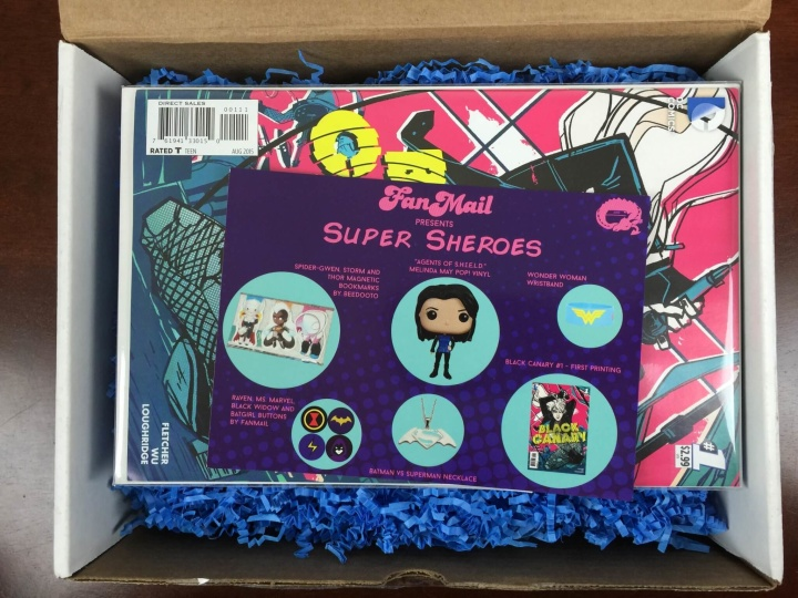 fanmail august 2015 unboxing