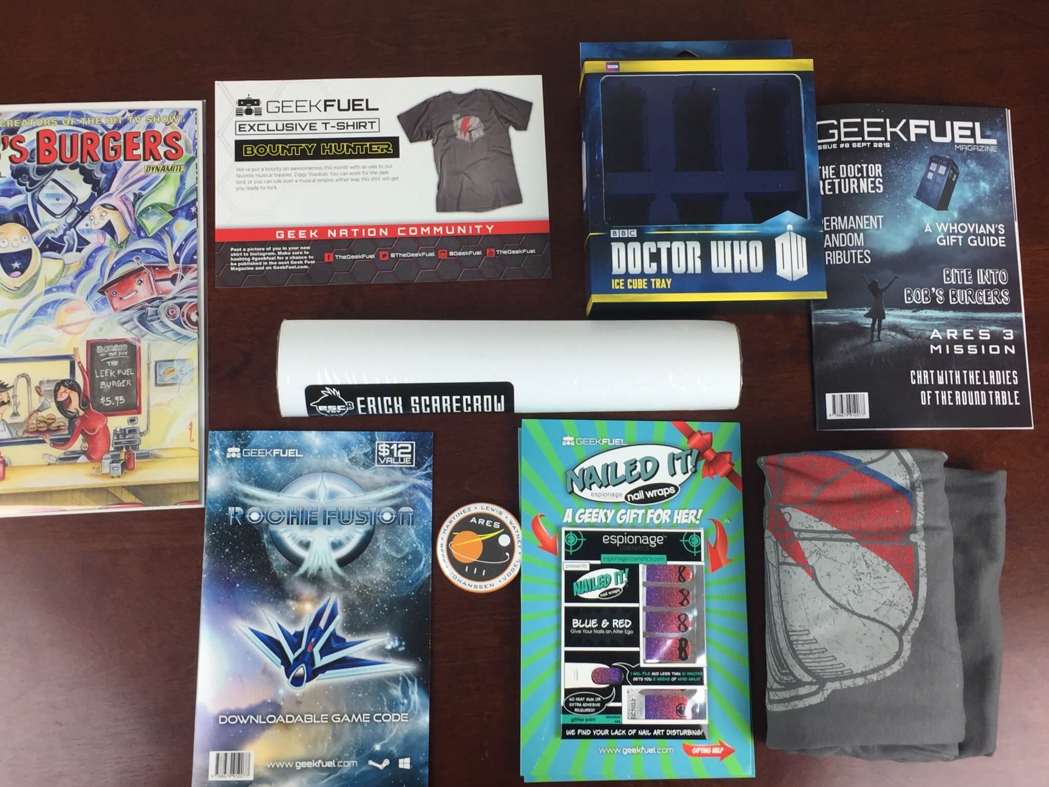 Geek Fuel Subscription Box Review & Coupon – September 2015