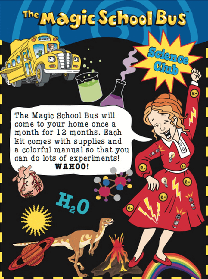 Magic School Bus Science Kit Subscription Coupon: Half Off Annual + Free Shipping!