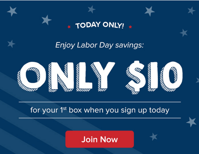 First Citrus Lane Box $10 – Labor Day Only!