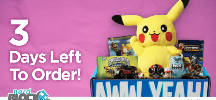 September 2015 Nerd Block Jr. Spoilers & Coupon