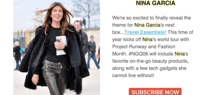 Nina Garcia Quarterly Box #NGQ06 Spoilers – Complete