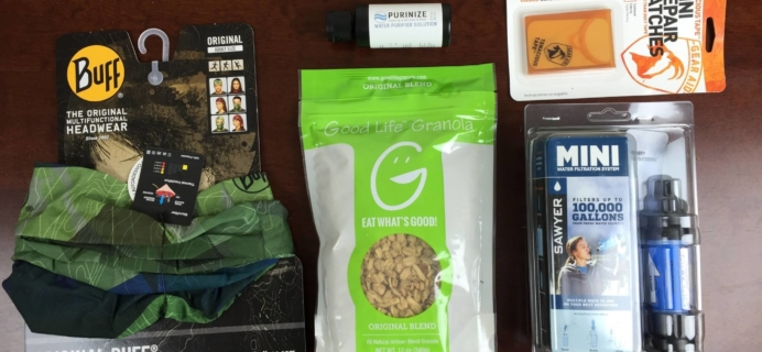 Isle Box Outdoors & Camping Subscription Box Review – August 2015