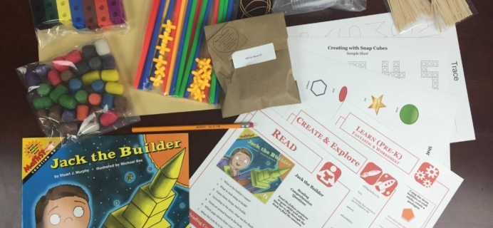Little Thinker Box August 2015 Subscription Box Review