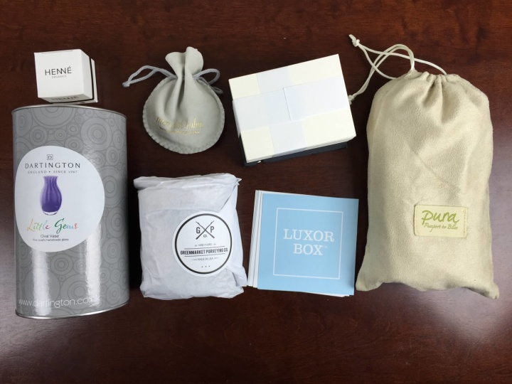 luxor box september 2015 review