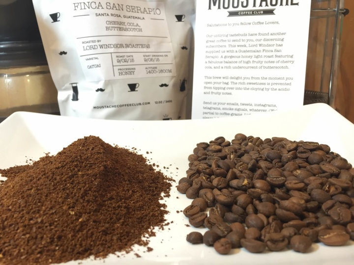moustache coffee september 2015review