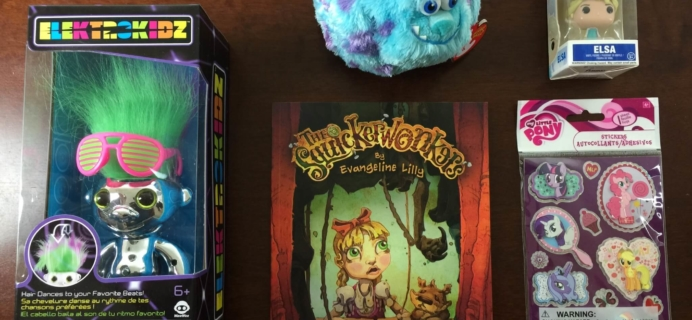 Nerd Block Jr. Girls Subscription Box Review & Coupon – September 2015