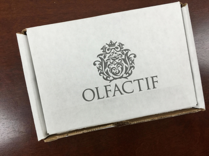olfactif men's september 2015 box